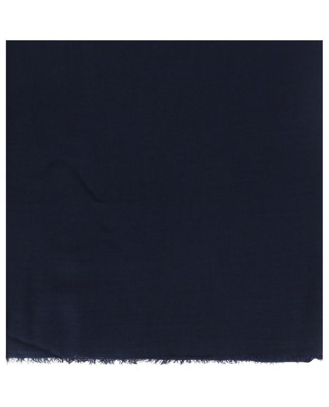 Écharpe unie en modal et cashemire Azzurra FALIERO SARTI