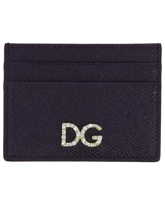 Porte-cartes en cuir DOLCE & GABBANA