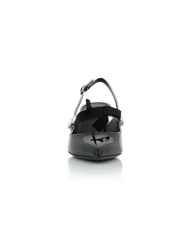 Lori patent leather slingback pumps DOLCE & GABBANA