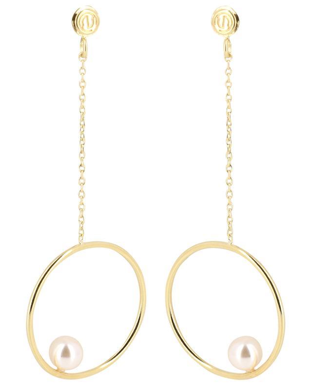 Boucles d'oreilles dorées Neo CAROLINE NAJMAN