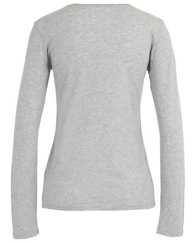 T-shirt à manches longues coton et cachemire MAJESTIC FILATURES
