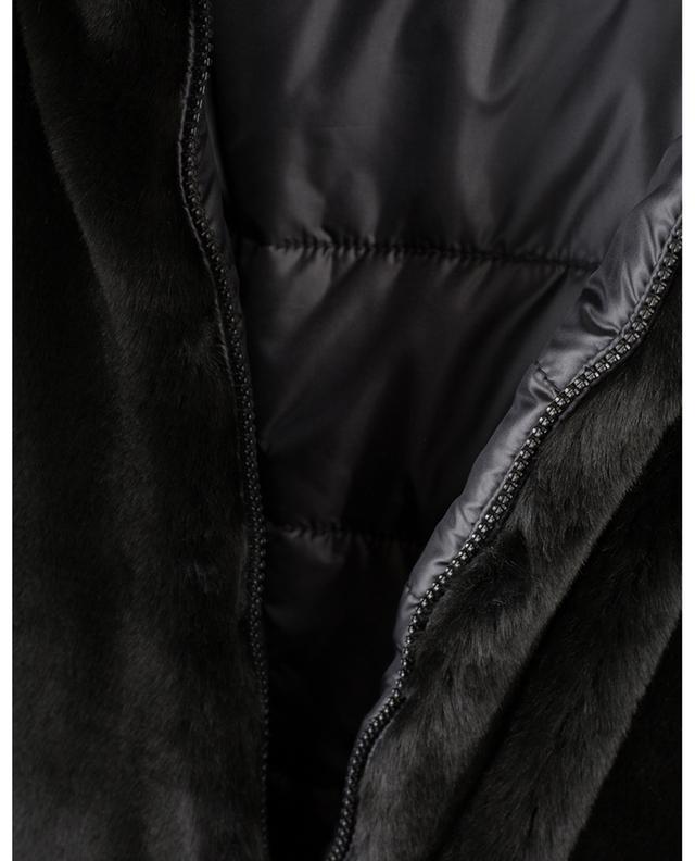 Jasmin reversible padded and faux fur jacket IBLUES