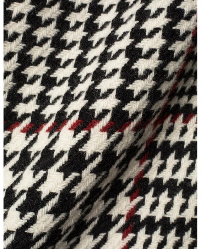 Minijupe en laine motif prince-de-galles AKRIS PUNTO