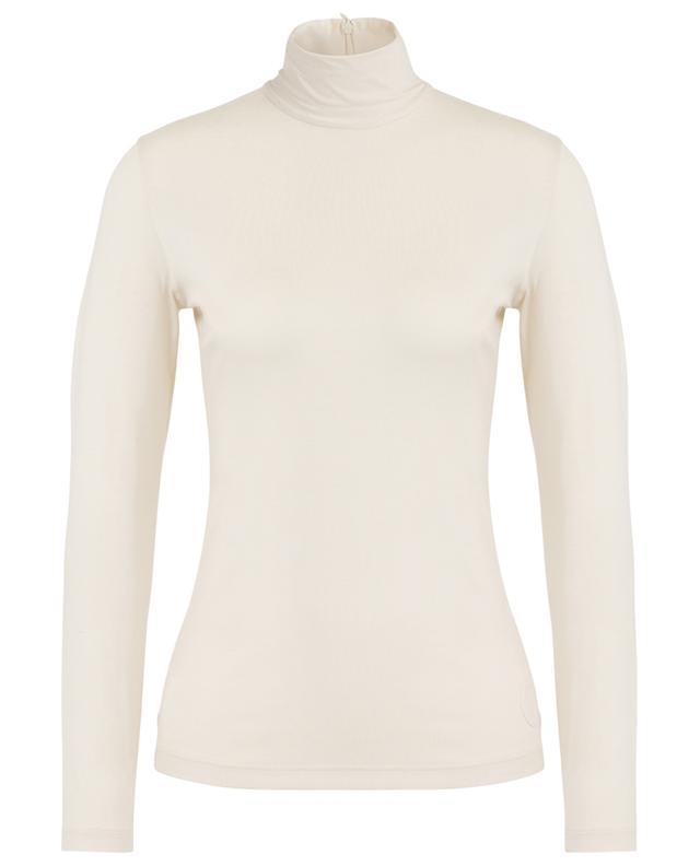 T-shirt mit langen Ärmeln aus Modal-Stretch AKRIS PUNTO