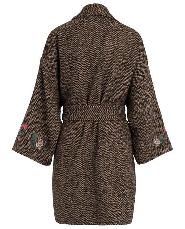 Manteau à chevrons brodé RED VALENTINO