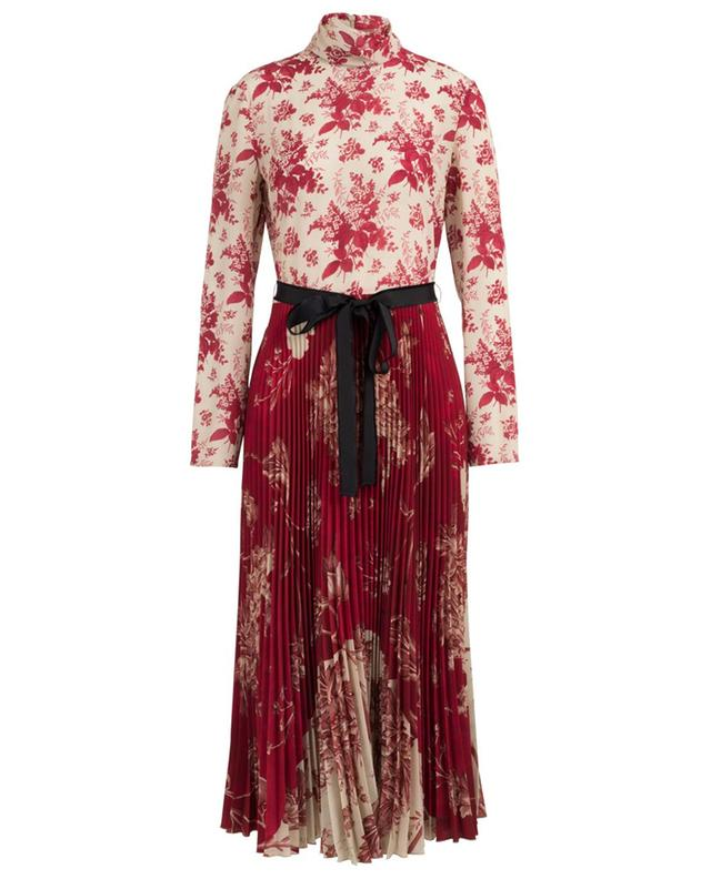Robe longue fleurie Floral Tapestry et Toile de Jouy RED VALENTINO