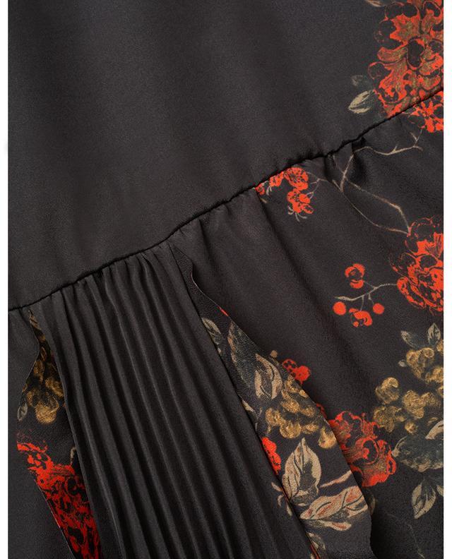Robe longue Oriental Flowers RED VALENTINO