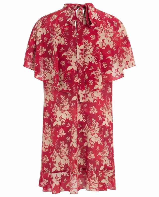 Robe cape imprimée en soie Floral Tapestry RED VALENTINO