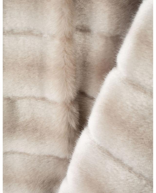 Oh My Deer hooded faux fur coat / FAZ / NOT FUR