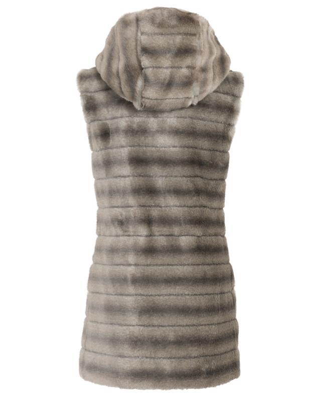 Oh My Deer fake fur mid-length vest / FAZ / NOT FUR
