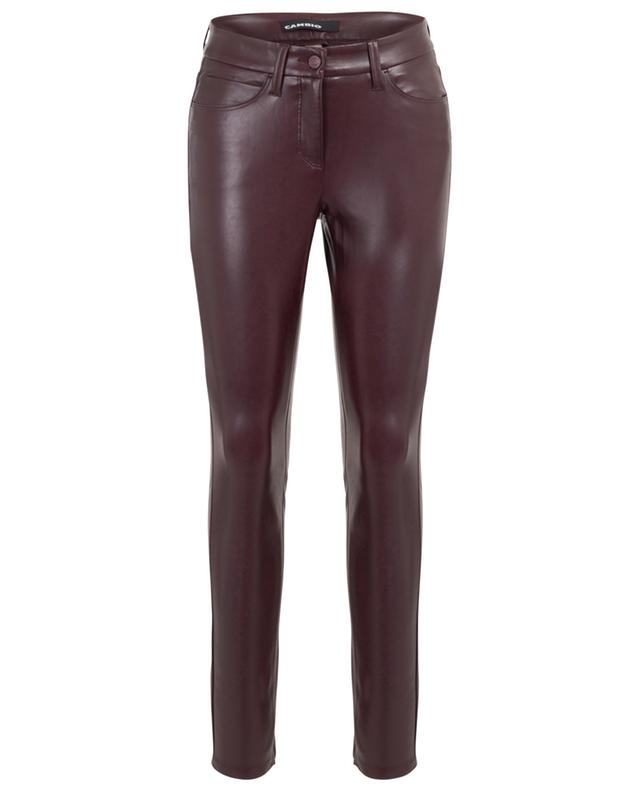 Jegging en cuir synthétique Ray 5-Pocket CAMBIO