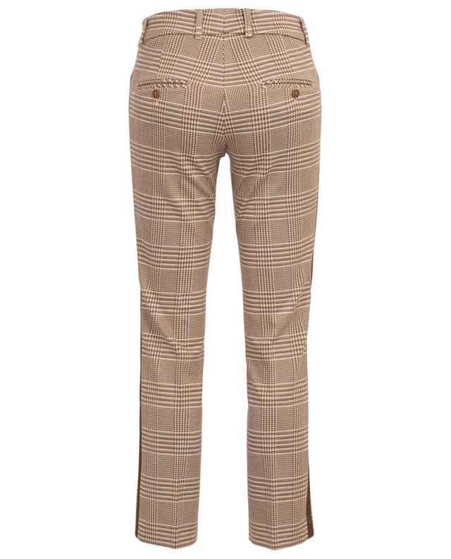 Pantalon droit prince-de-galles Felicity CAMBIO
