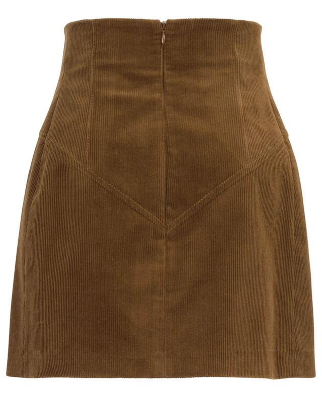 Corduroy mini-skirt N°21