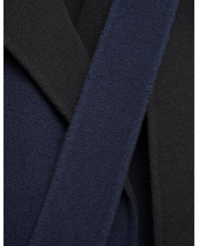 Manteau double-face en laine N°21