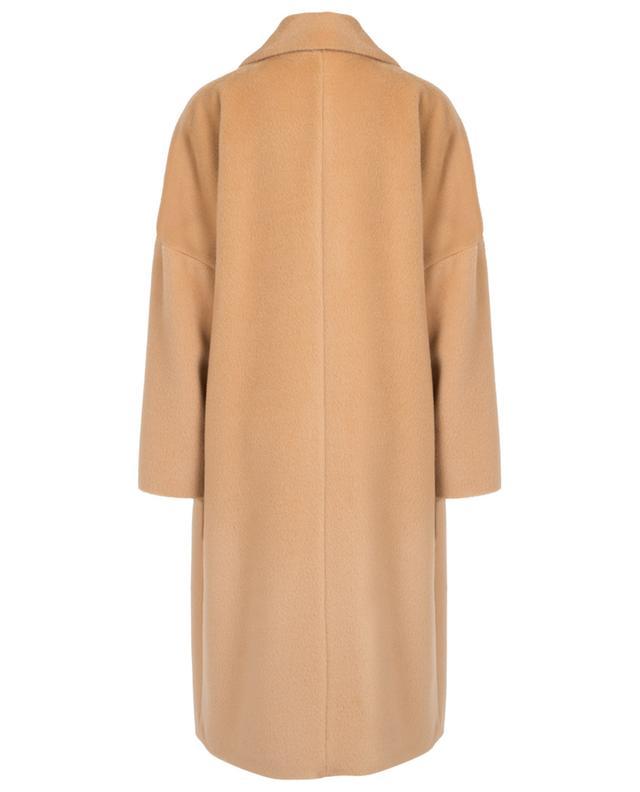 Alpaca and virgin wool wide coat MARC CAIN