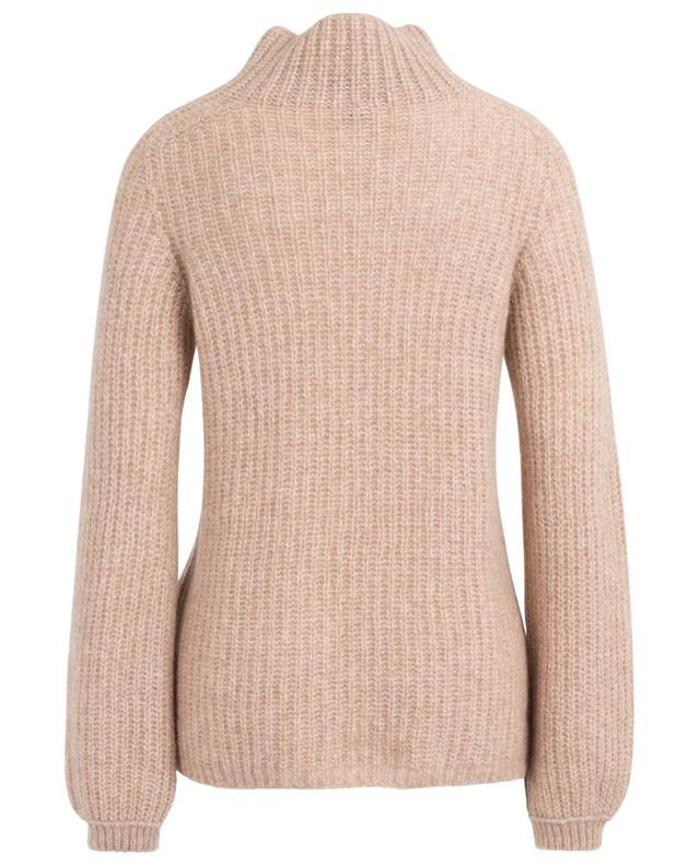 Cashmere and silk jumper with mock collar MARC CAIN