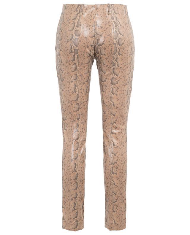 Pantalon slim enduit imprimé serpent MARC CAIN