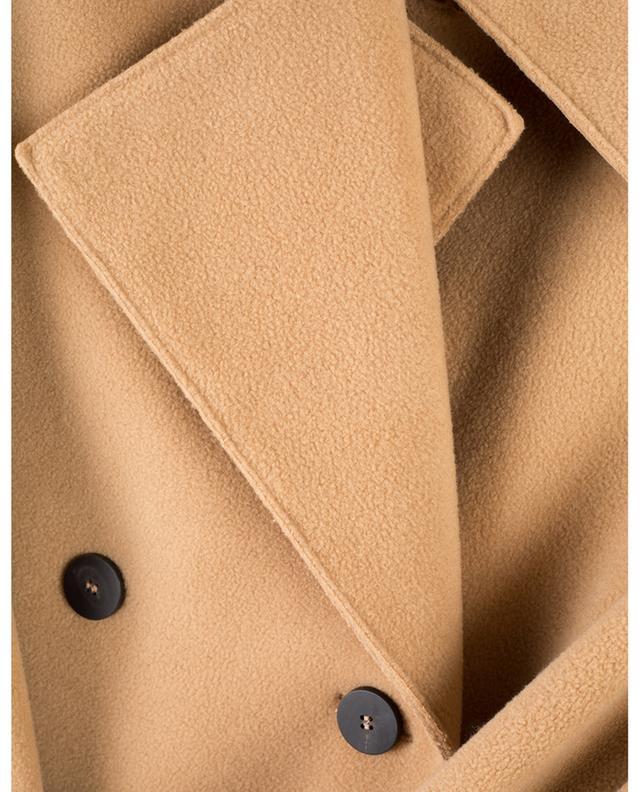 Manteau long en polaire avec ceinture HARRIS WHARF