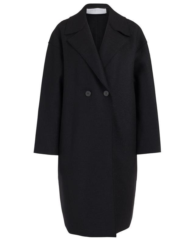 Manteau large en laine vierge HARRIS WHARF