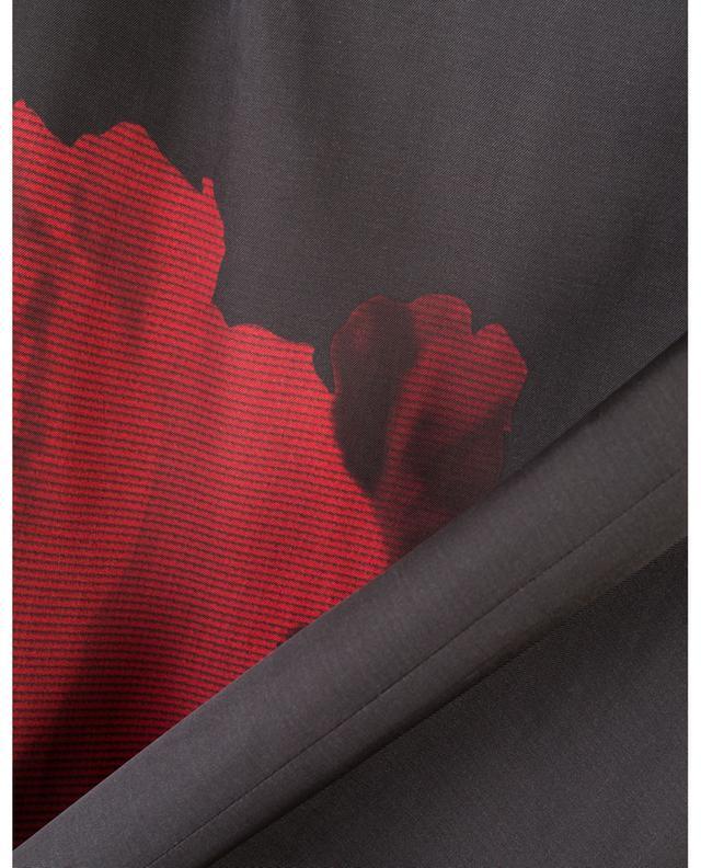 Jupe crayon imprimé roses N°21