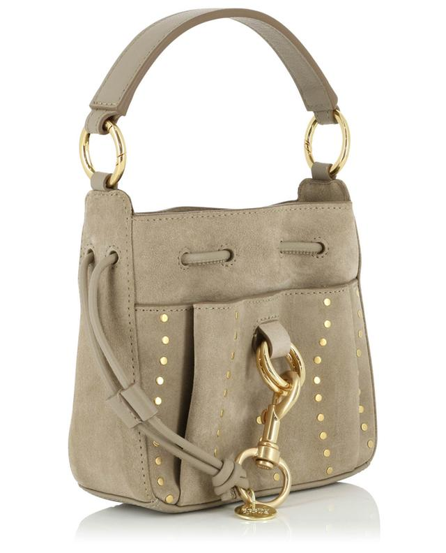Tony Small studded suede bucket bag SEE BY CHLOE