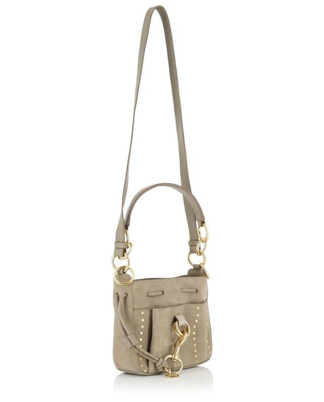 Sac seau en daim clouté Tony Small SEE BY CHLOE