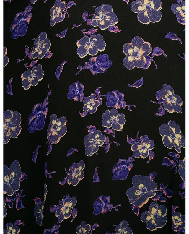 Robe trapèze midi fleurie GANNI