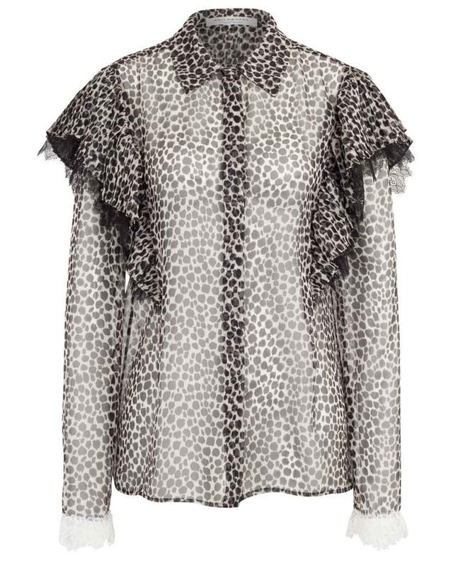 Leopard print chiffon shirt PHILOSOPHY