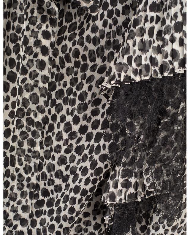 Chemisier en mousseline imprimée léopard PHILOSOPHY
