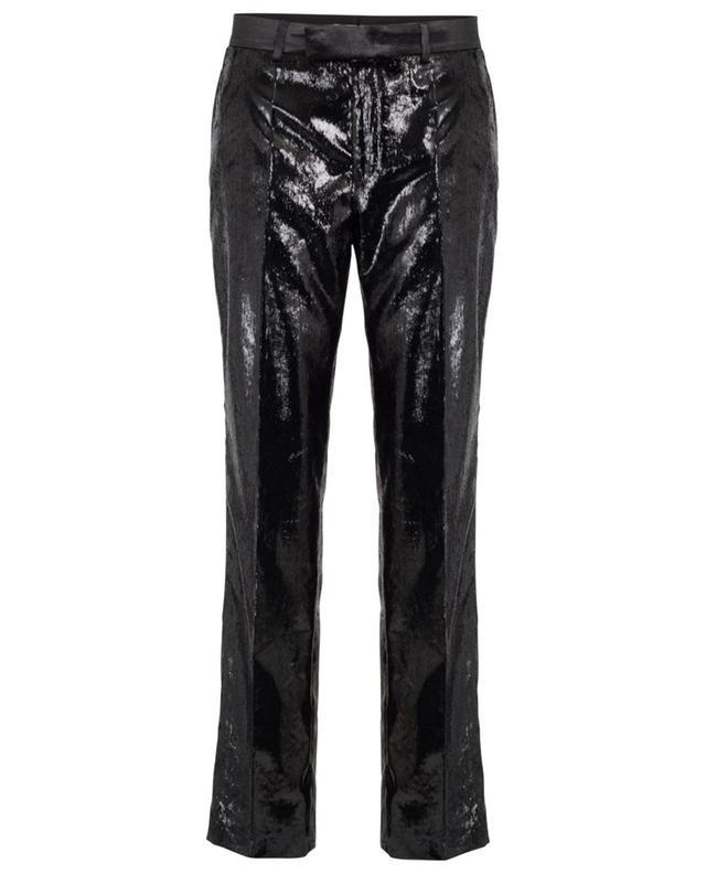 Pantalon droit à paillettes PHILOSOPHY