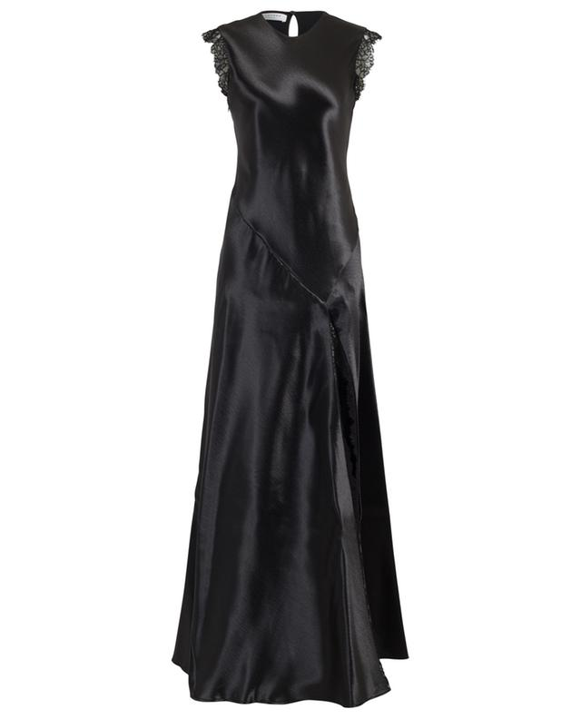Satin and lace maxi dress PHILOSOPHY