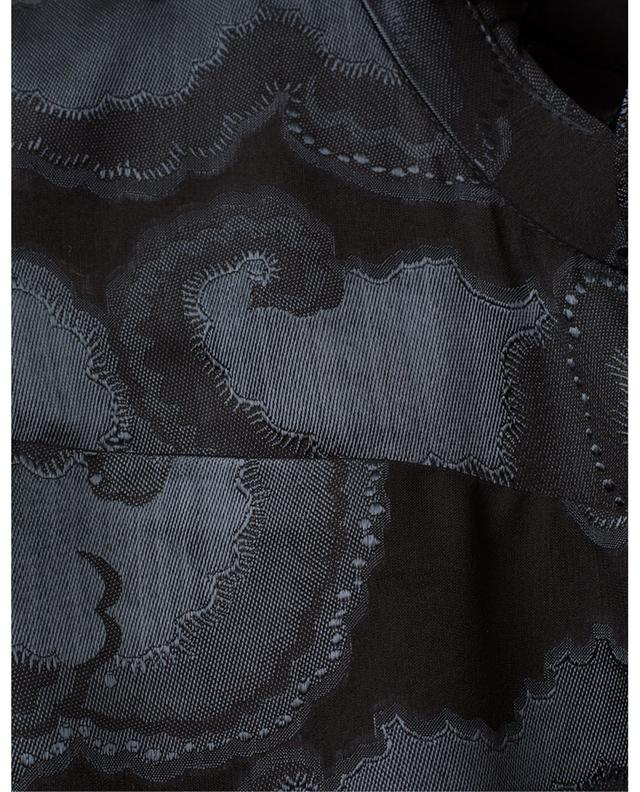 Rina-B Daybreak satin jacquard mini dress SALONI