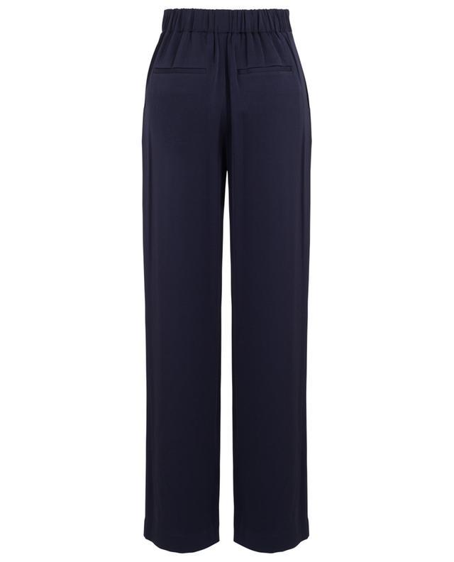 Pantalon à pinces en crêpe VINCE