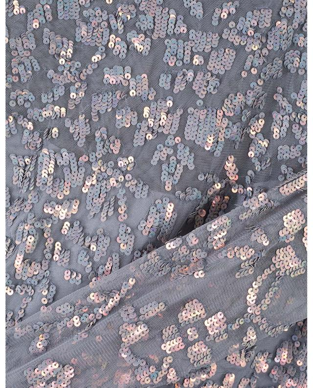 Robe courte en tulle avec sequins Rosmund NEEDLE &THREAD