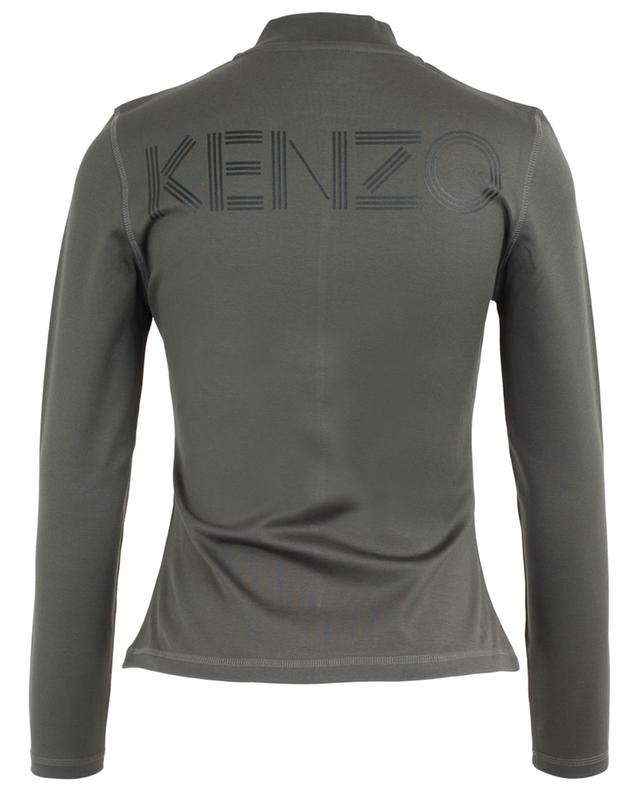 Cardigan zippé cintré Kenzo Logo KENZO