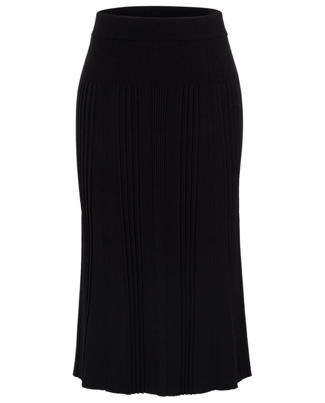 Viscose stretch A-line midi skirt KENZO