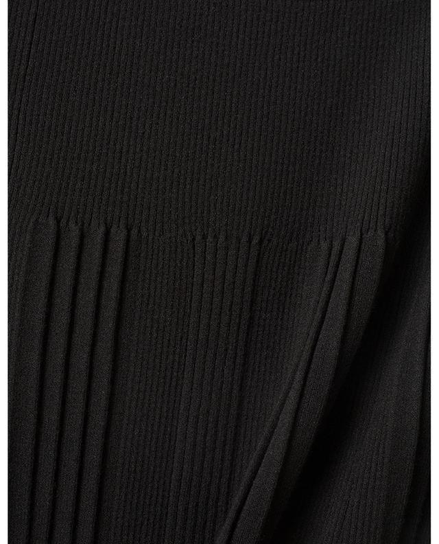 Viscose stretch A-line midi skirt KENZO