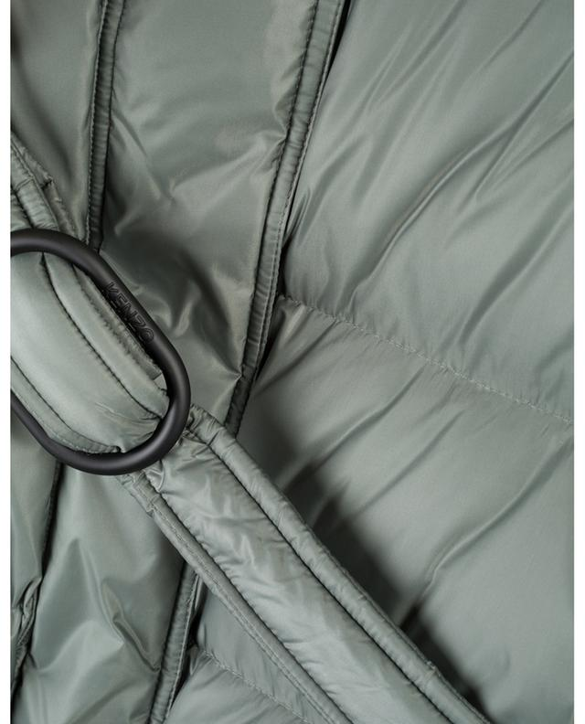 Short belted down jacket with hood KENZO