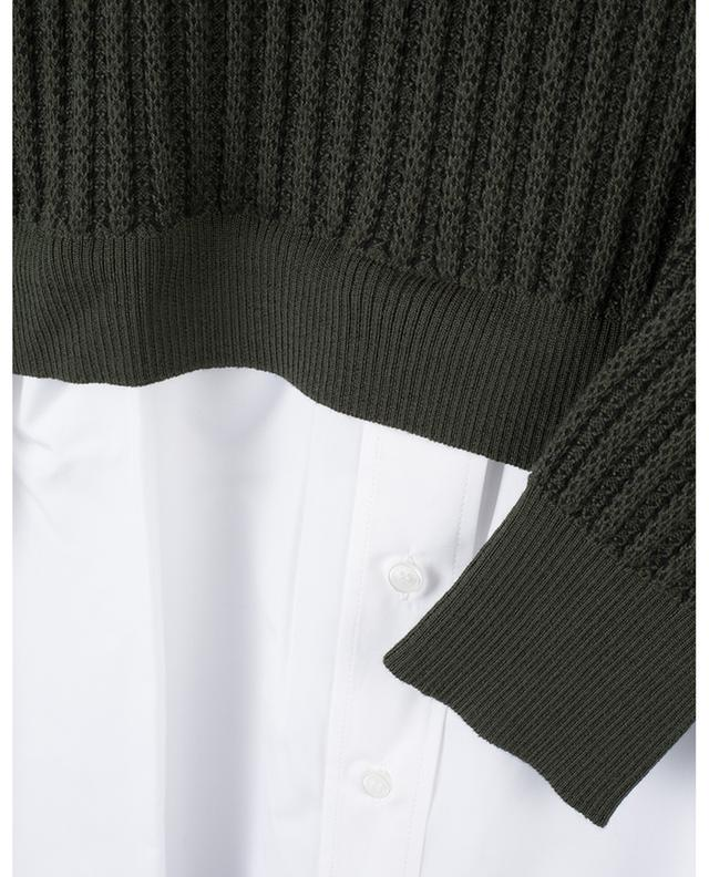 Cotton jumper with shirt KENZO
