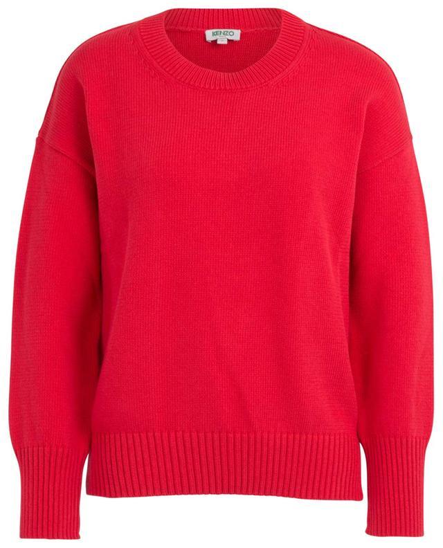 Pull tricot en coton mélangé Kenzo Sport KENZO