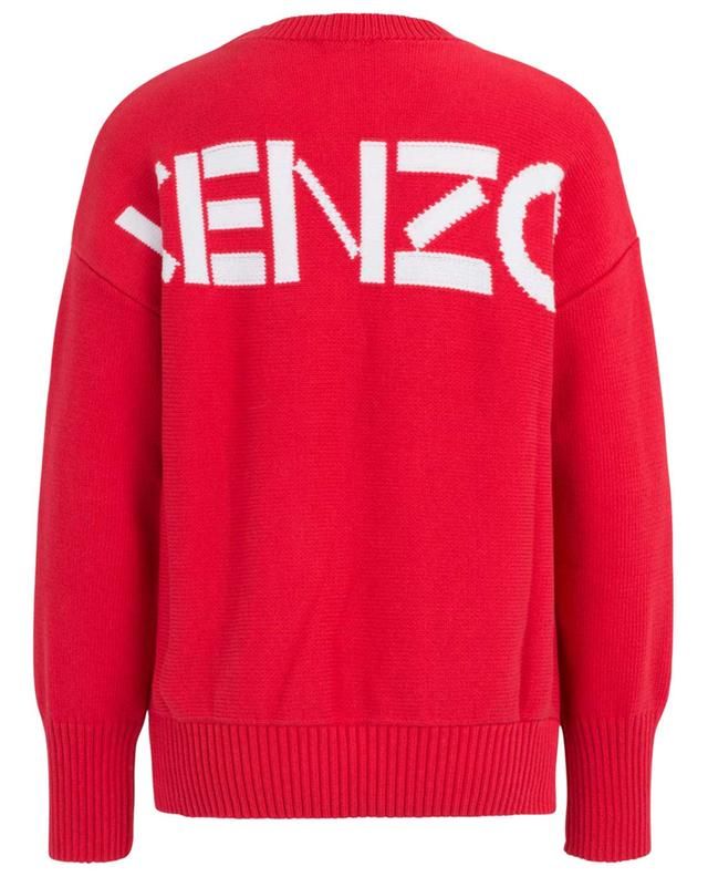 Kenzo Sport cotton blend knit jumper KENZO