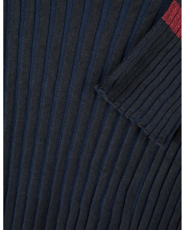 Pull côtelé effet plissé avec lurex Pleated KENZO