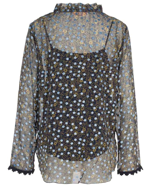Micro Floral muslin blouse with velvet dots SEE BY CHLOE