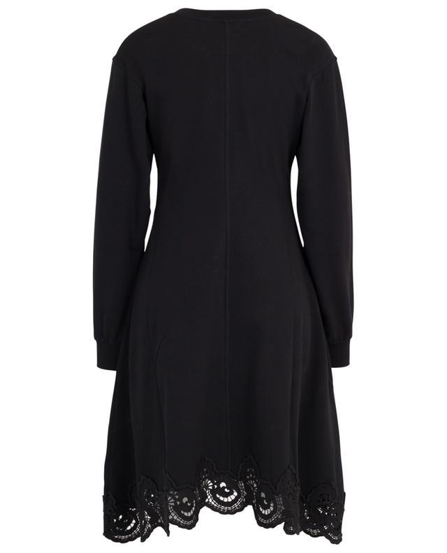 Robe sweat évasée embellie de guipure SEE BY CHLOE