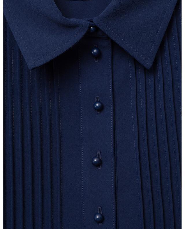 Robe chemise en crêpe à nervures SEE BY CHLOE