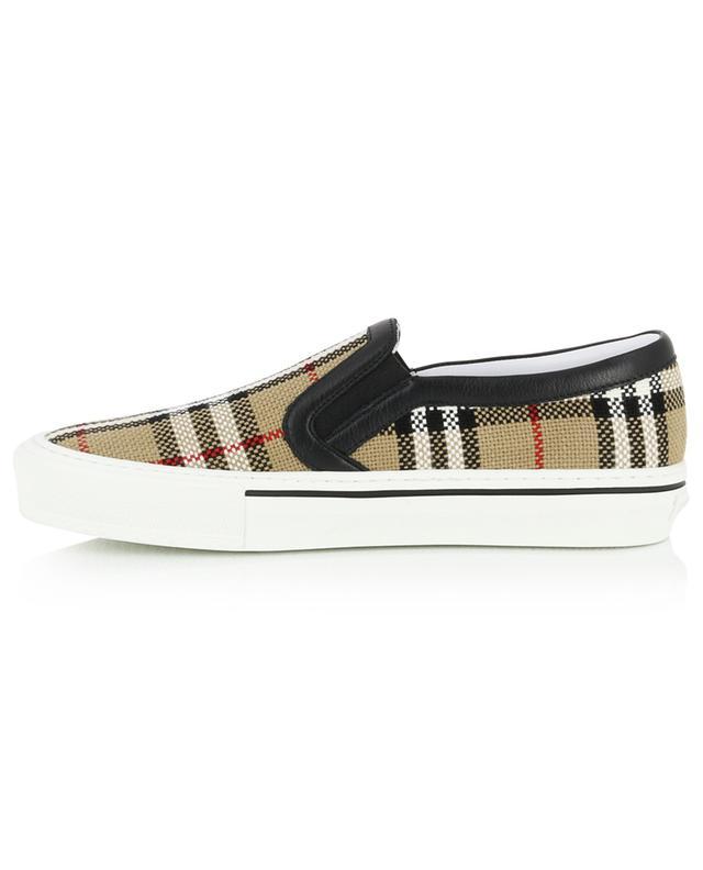 Slip-on-Sneakers Vintage Check Delaware BURBERRY