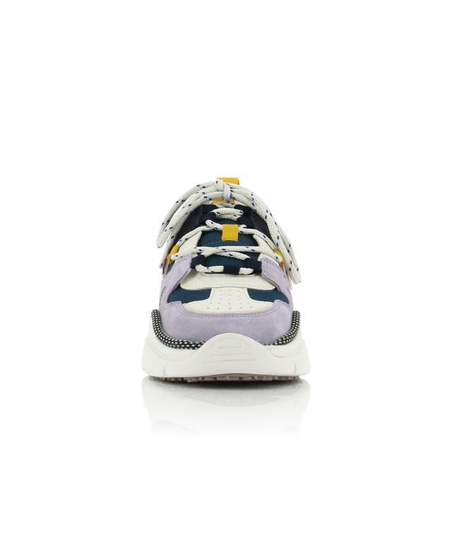Kindsay multi material lace-up sneakers ISABEL MARANT