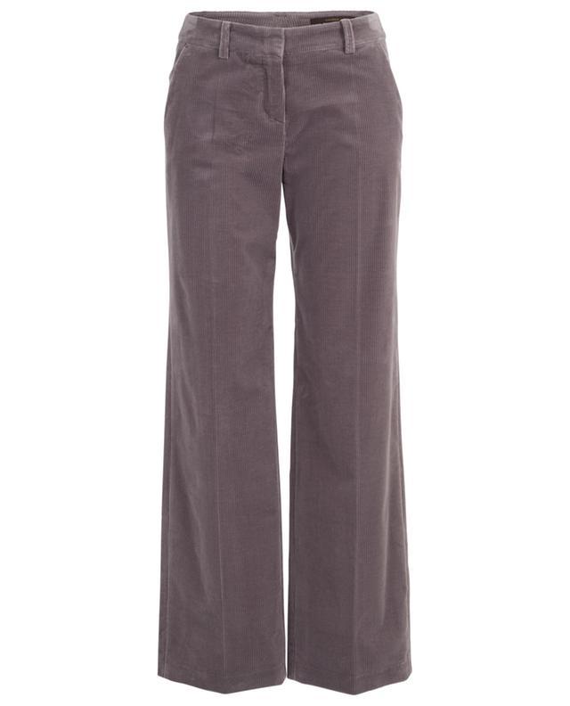 Corduroy wide-leg trousers WINDSOR
