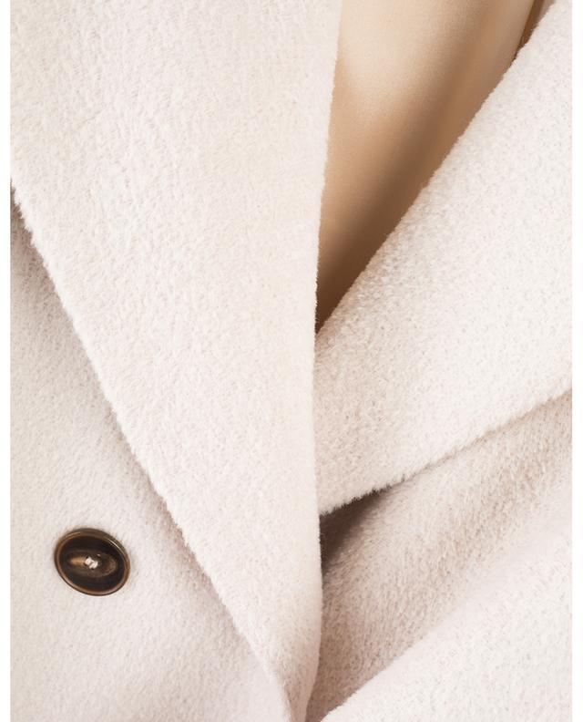 Manteau à double boutonnière en alpaga et laine vierge WINDSOR