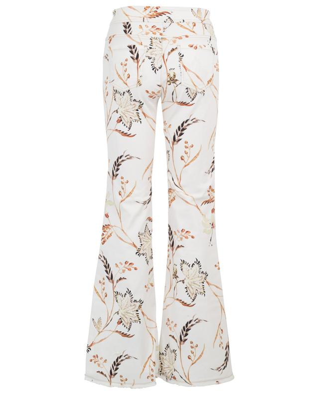 Havana Flower printed flared jeans SCHUMACHER